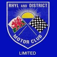 Rhyl and District Motor Club logo